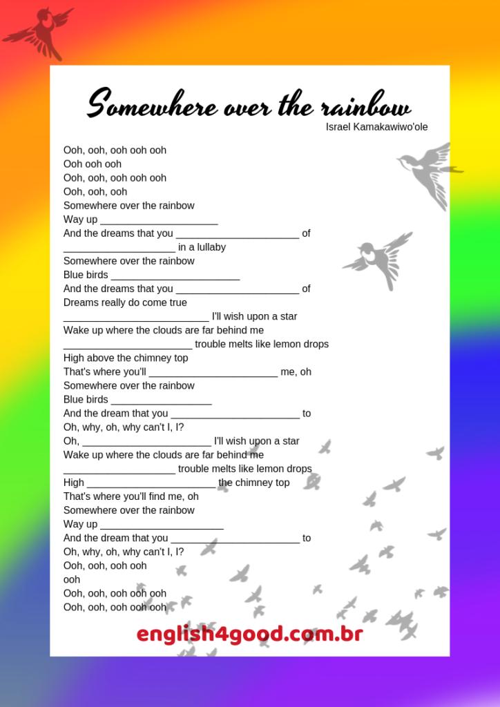 Text písně Judy Garland: Somewhere Over The Rainbow